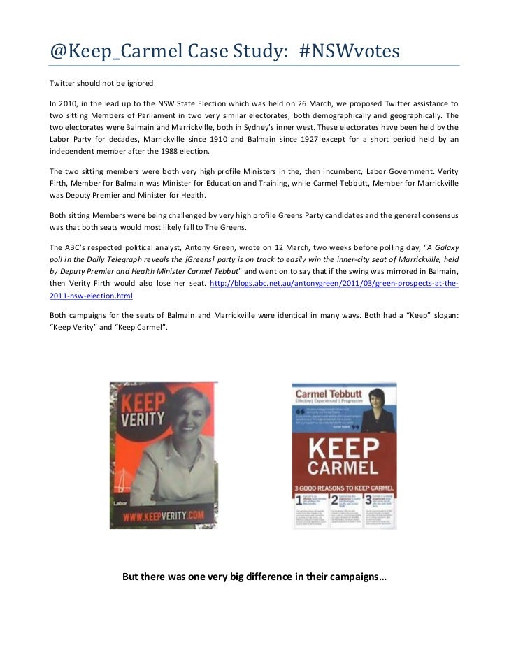 @Keep_CarmelCaseStudy:#NSWvotesTwitter should not be ignored.In 2010, in the lead up to the NSW State Election which ...