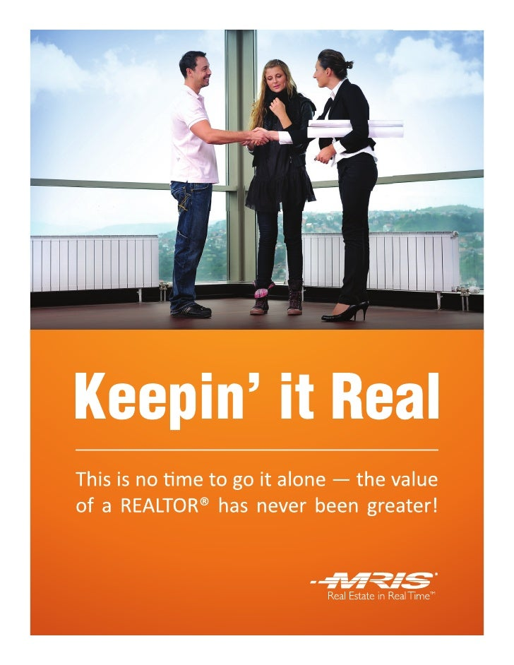 MRIS Keepn it-real 2011 Consumer Report