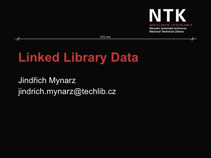 Linked library data