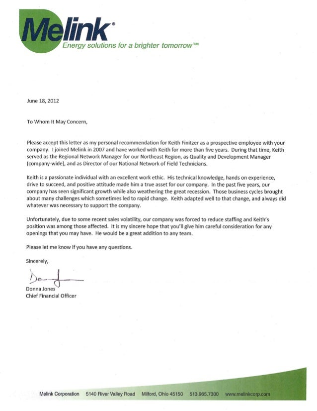 reference letter from finance manager A manager seeking employment in any industry such as manufacturing, finance,  retail, hotel, food service or healthcare may need a letter of recommendation.