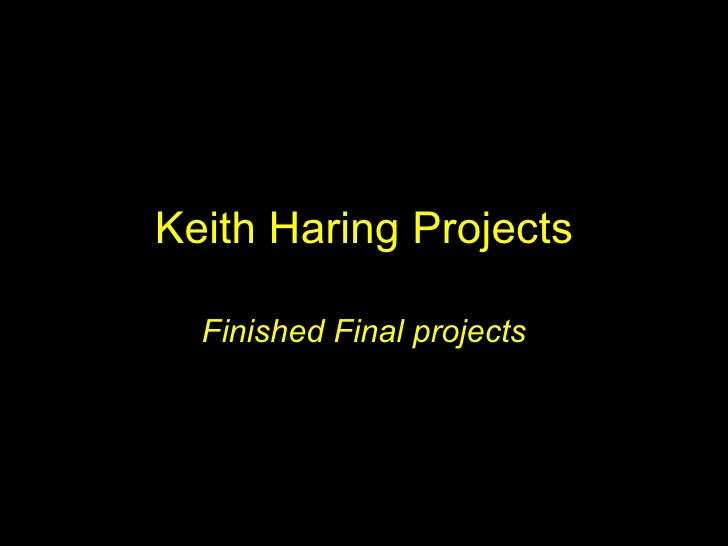 Keith Haring Projects