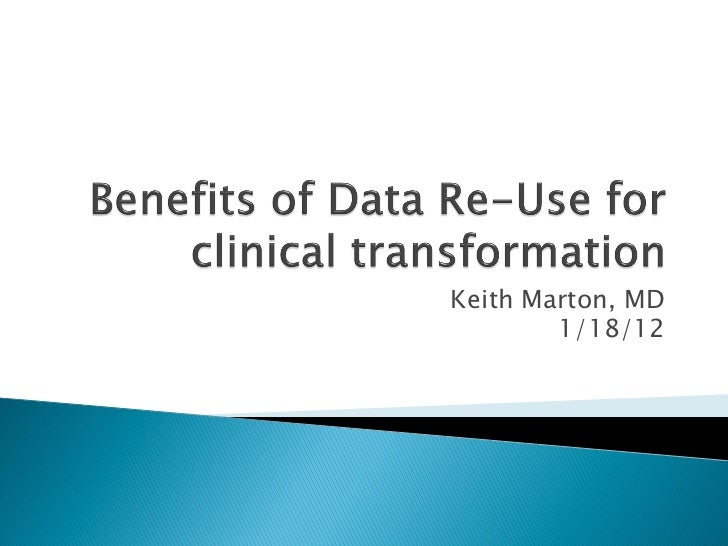 "Case Study ""Clinical Transformation: Experience of One System"""