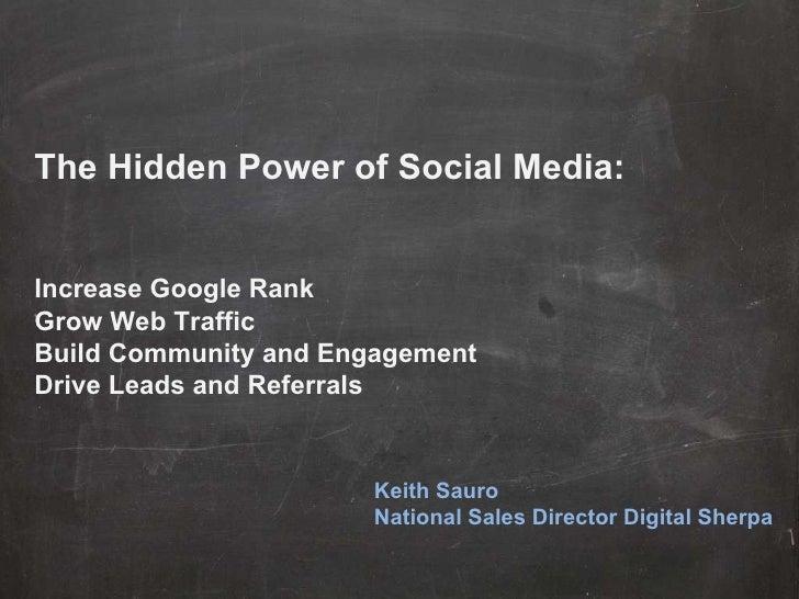 The Secret Power of Social Media (Design Sherpa) 2 1-2011