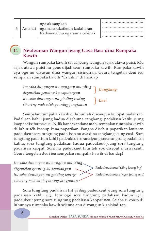 Silabus Bahasa Sunda Sma