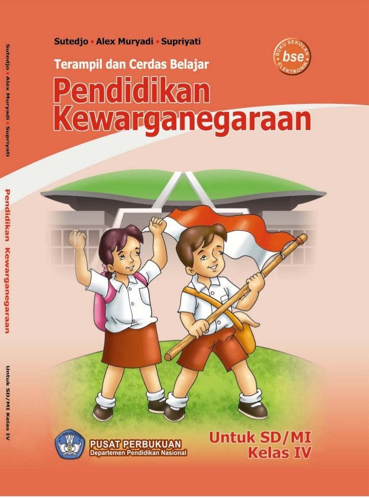 BSE Pendidikan Kewarganegaraan Kelas 4 Sutedjo