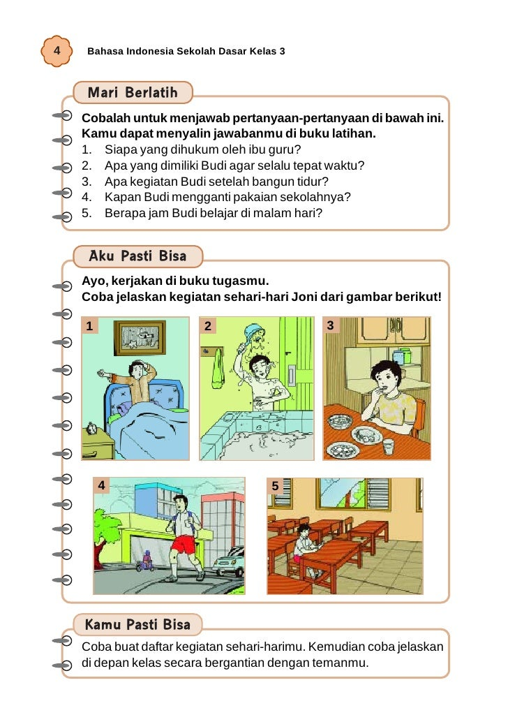 Soal Bahasa Indonesia Kelas 2 Sd Kurikulum 2013 Contoh Silabus Bina Bahasa Indonesia Kelas 5 Sd