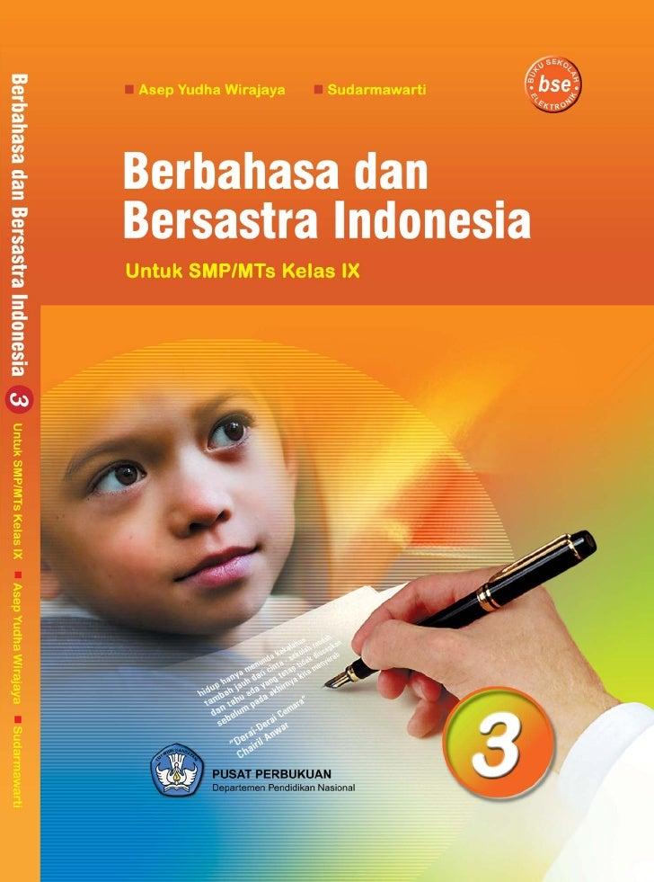 Kelas ix smp bahasa indonesia_asep yudha