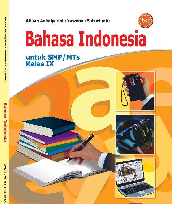 Kelas ix smp bahasa indonesia_atikah anindyarini