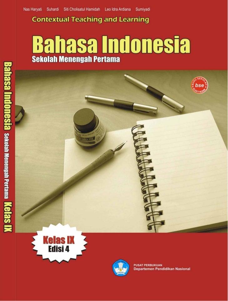 Kelas ix smp bahasa indonesia_nas haryati