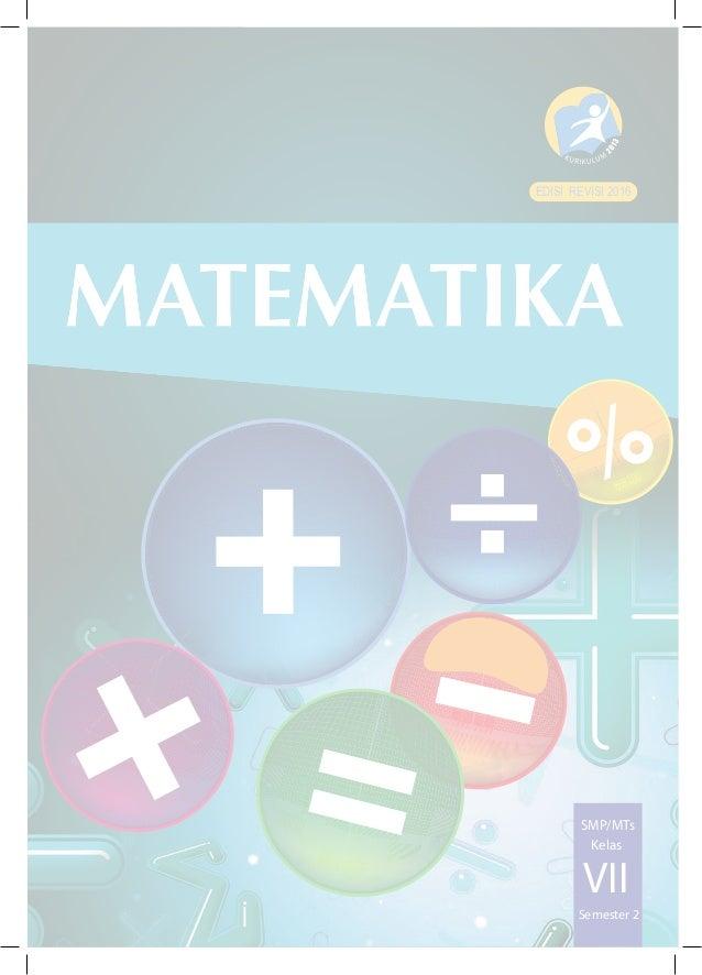 Kelas Vii Matematika Bs Sem 2