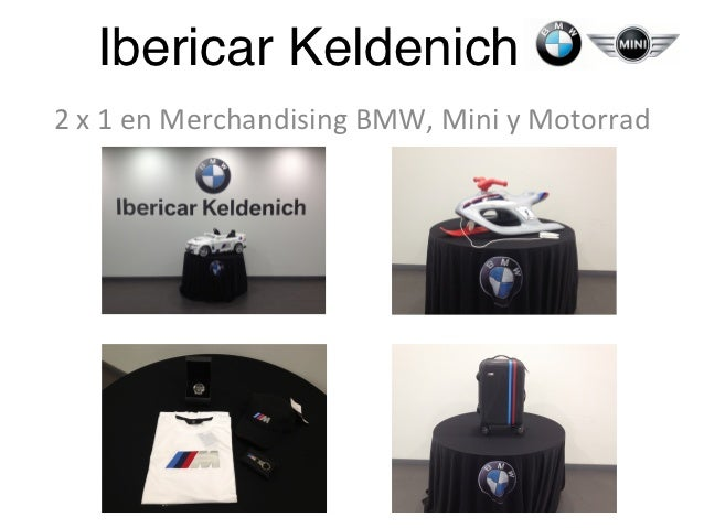 Ibericar Keldenich!2 x 1 en Merchandising BMW, Mini y Motorrad
