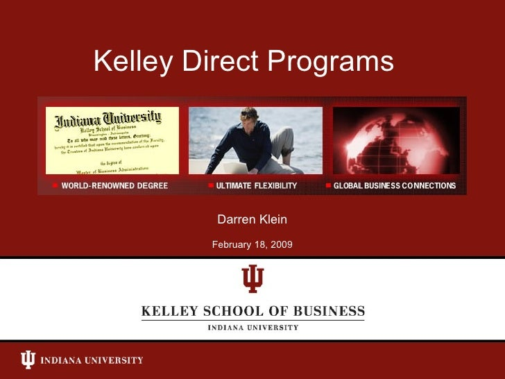 Kelley Direct Programs