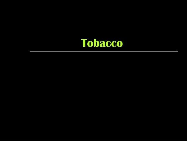 TobaccoTobacco