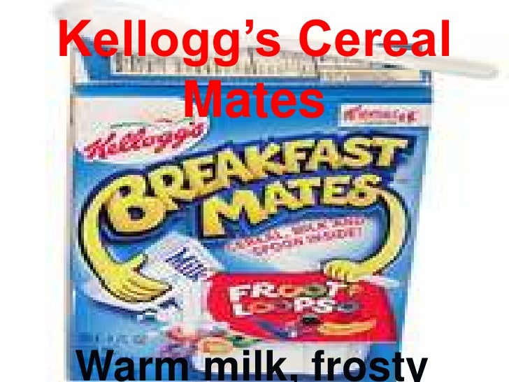 Kellogg's Cereal Mates - Warm Milk, Frosty Reception