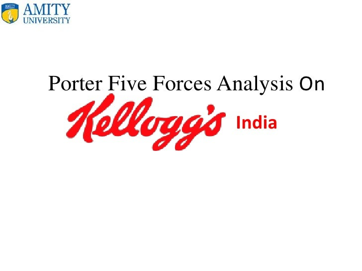 porter analysis of kellogs I agree with my colleagues' main critique of denning's article: the notion that porter's framework for industry analysis is a strategy panacea is a straw man, trivial to rebut no one who teaches porter's framework believes this and porter never claimed it to be so.