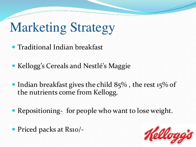kellogg s strategic analysis Pepsico's swot analysis (strengths, weaknesses, opportunities, threats) is shown in this case study on internal & external strategic factor recommendations.