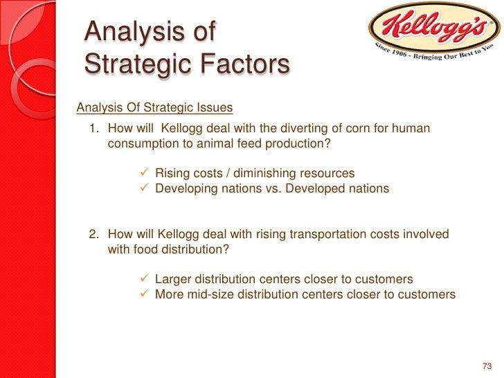 kellogg on strategy book report