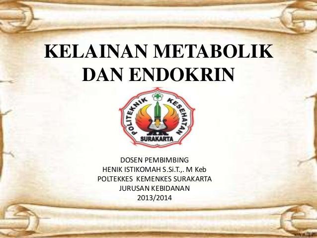 sistem endokrin & metabolik - Digilib Esa Unggul
