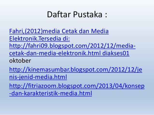 Media Cetak Dan Media Elektronik Karakteristik-media-cetak-dan