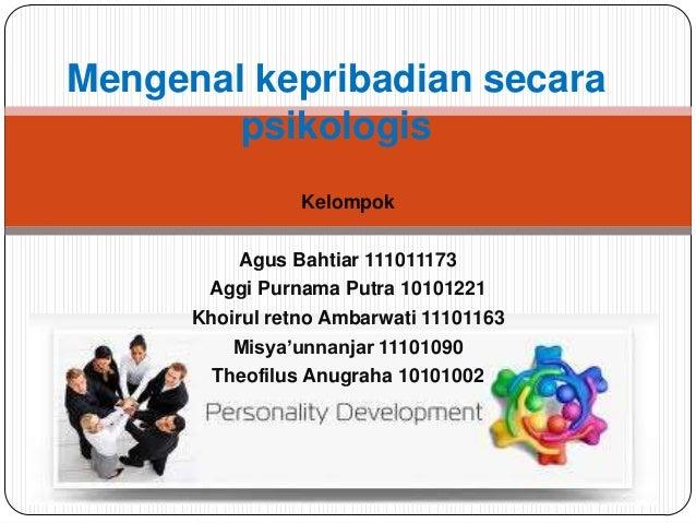 Kelompok Agus Bahtiar 111011173 Aggi Purnama Putra 10101221 Khoirul retno Ambarwati 11101163 Misya'unnanjar 11101090 Theof...