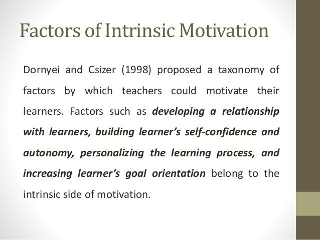 "extrinsic and intrinsic motivation in education The following video ""extrinsic vs intrinsic motivation by ascatrit"" explains extrinsic and intrinsic motivation in educational settings."