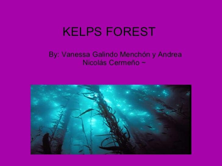 KELPS FOREST   By: Vanessa Galindo Menchón y Andrea Nicolás Cermeño ~