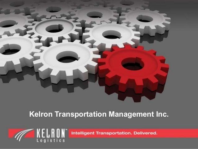 Kelron Transportation Management Inc.