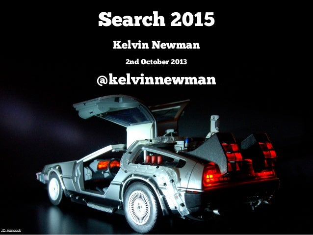 Kelvin Newman - Search 2015