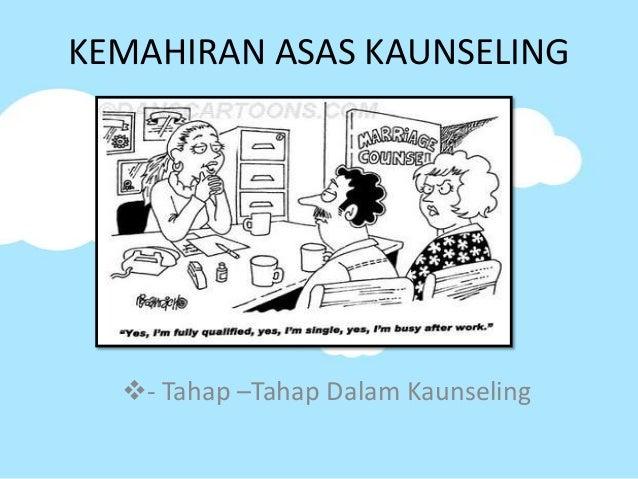 KEMAHIRAN ASAS KAUNSELING  - Tahap –Tahap Dalam Kaunseling