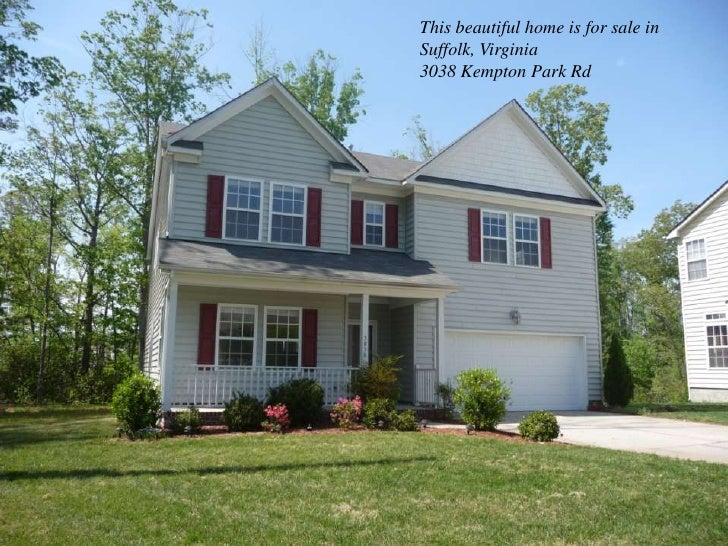 This beautiful home is for sale in Suffolk, Virginia<br />3038 Kempton Park Rd<br />