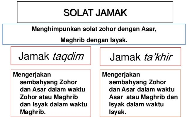 Image result for solat jamak