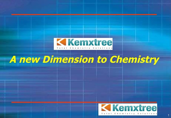 A new Dimension to Chemistry