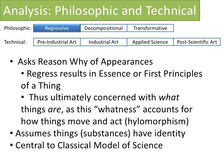 How Analytic is Systems Analysis? Ken Archer