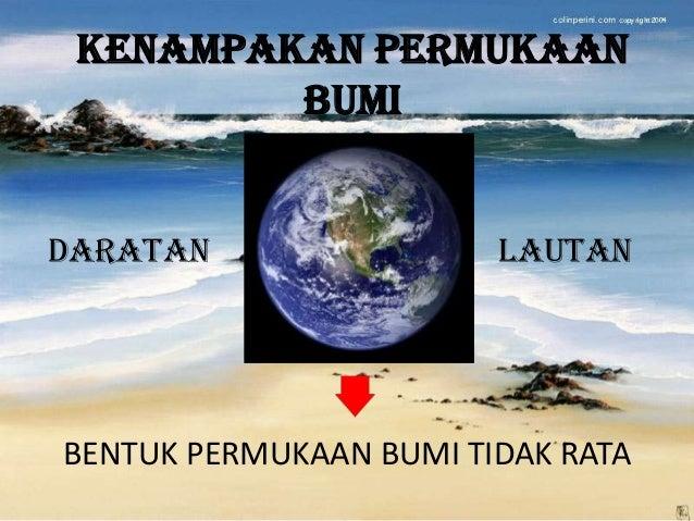 Kenampakan Permukaan Bumi