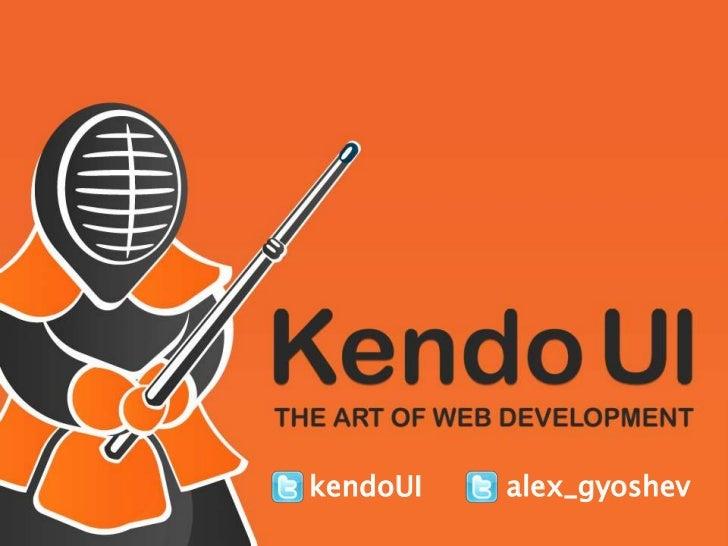 Kendo UI presentation at JsConf.eu