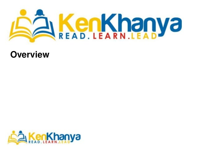 KenKhanya - Delivering books to students in Africa through series of innovative and technology mechanisms