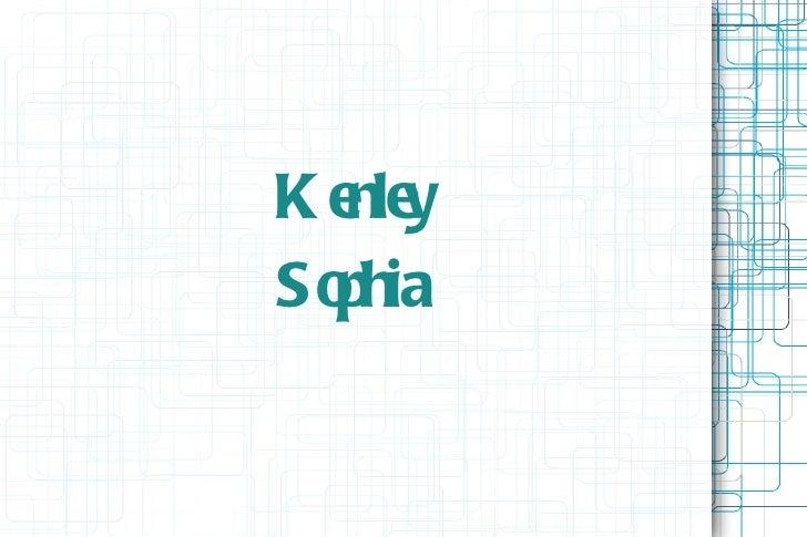 Kenley sophia