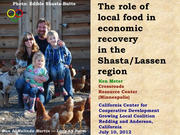 Photo: Edible Shasta-Butte                                      The role of                                      local foo...