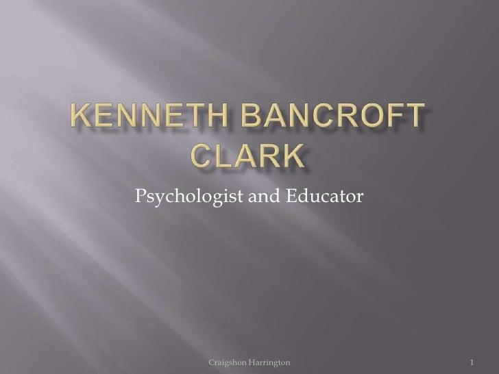 Kenneth B. Clark
