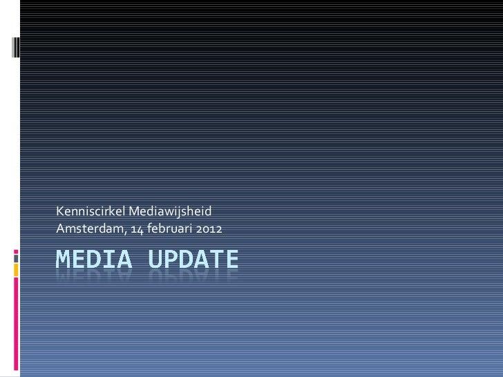 Kenniscirkel Mediawijsheid