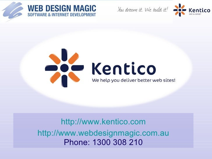 Kentico CMS Overview