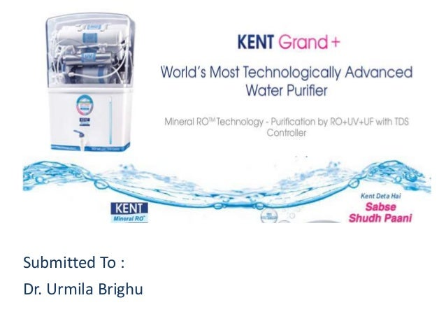 Kentro water purifier