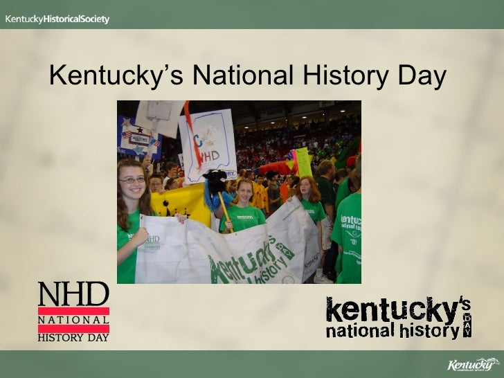 Kentuckys National History Day 08 09