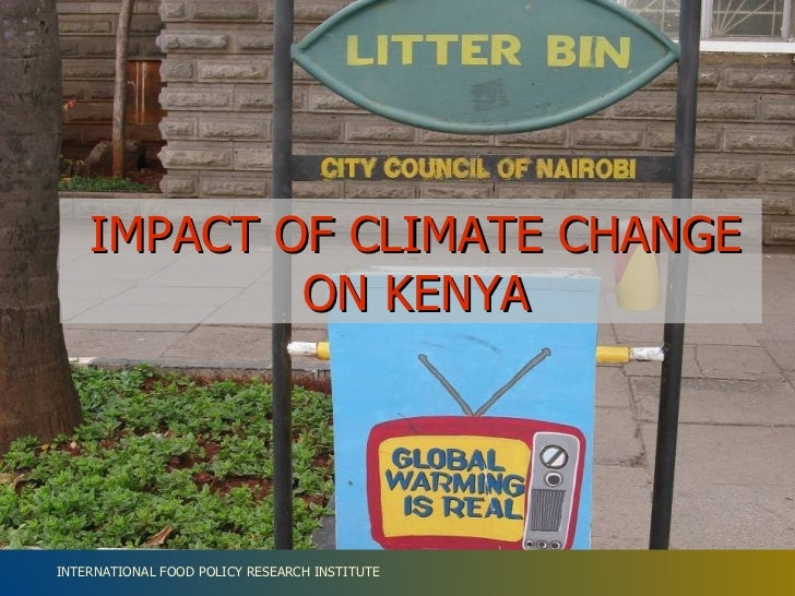 IMPACT OF CLIMATE CHANGE ON KENYA