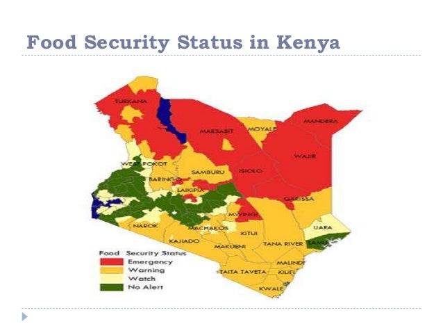 insecurity in kenya Household food insecurity in sub‐saharan africa: lessons from kenya author(s):  dickson m nyariki (lecturer in agricultural economics, department of range.