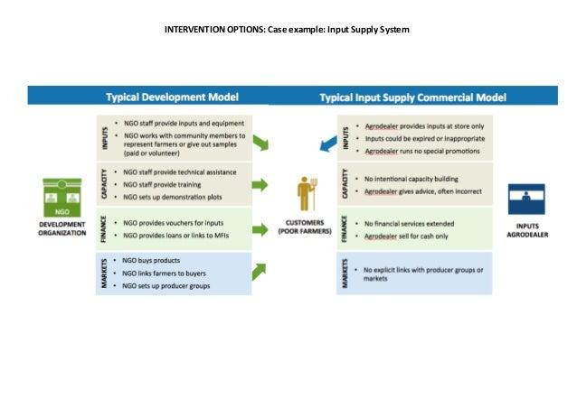 Kenya input supply system development summary