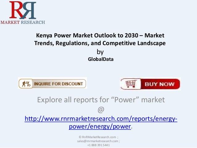 New Report on Kenya Power Market 2030