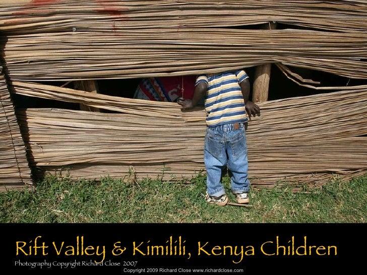 Kenya Rift Valley Children