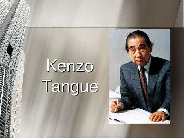 Kenzo Tangue