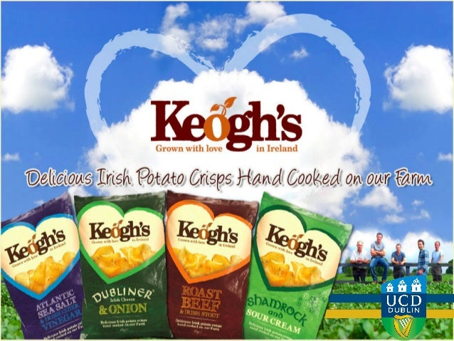 UCD Michael Smurfit Group Assignment for Keogh's Crisps